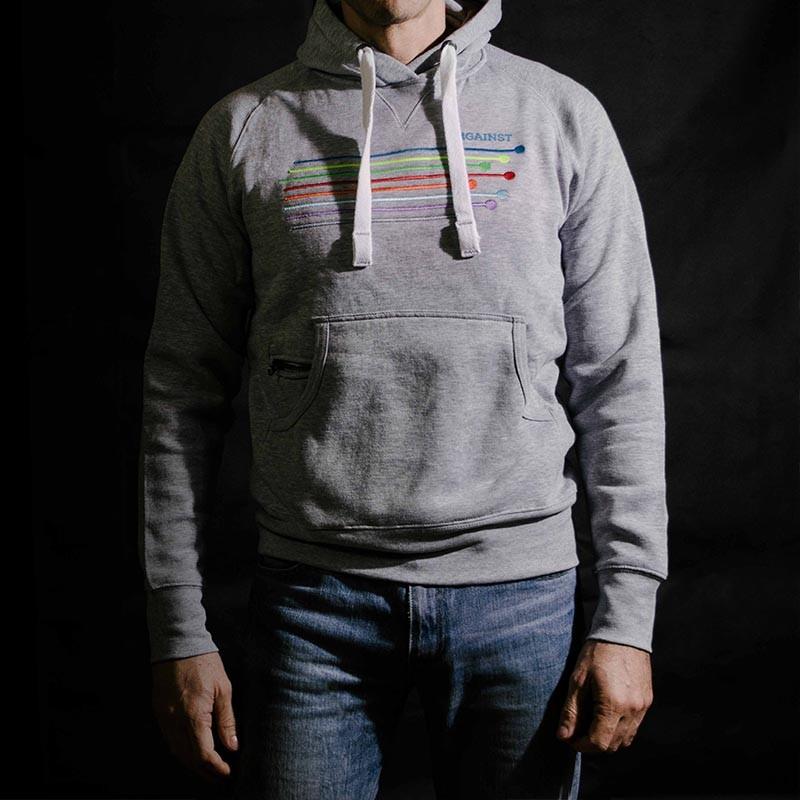 Felpa grigia - Grey Hoodie